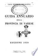 Guida annuario della Provincia di Varese