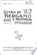 Guida di Bergamo e provincia periodico annuale