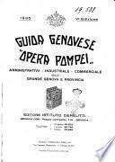 Guida genovese Opera Pompei amministrativa - industriale - commerciale della grande Genova e provincia