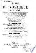 Guide du voyageur en Italie comprenat, 1. le tarif de postes ... par Richard et Mariana Starke