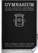 Gymnasium rivista didattico-letteraria per le scuole medie