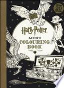 Harry Potter mini colouring book