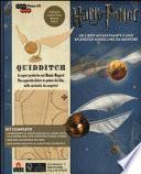 Harry Potter. Quidditch. Puzzle 3D Incredibuilds da J. K. Rowling. Con gadget