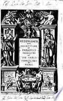 Hedengrafia, ouero Descrittione del Paradiso terrestre del sig. Carlo Giangolino da Fano