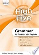 High five. Vol. 1-3. Grammar for students with DSA. Con esapsnione online. Per la Scuola media