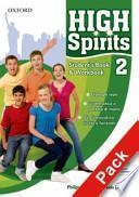 High spirits. Student's book-Workbook-My digital book. Con espansione online. Per la Scuola media. Con CD-ROM