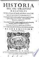 Historia de'fatti e guerre de'Sanesi cosi esterne come civili, seguite dall'origine della lor citta fino all'anno 1555