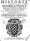 Historia della republica Veneta di Battista Nani