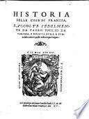 Historia delle cose die Francia (etc.)