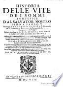 Historia Delle Vite Dei Sommi Pontefici