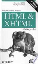 HTML & XHTML. Guida pocket