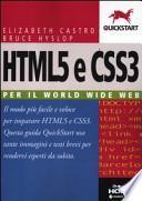 HTML5 e CSS3. Per il World Wide Web