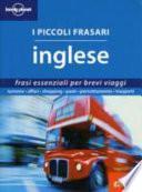 I Piccoli Frasari Inglese 1
