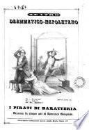 I pirati di Baratteria dramma in cinque atti di Domenico Bolognese