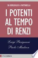 I potenti al tempo di Renzi