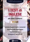 I test di inglese per tutti i concorsi
