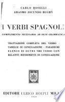 I verbi spagnoli, complemento necessario ad ogni grammatica