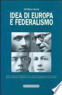 Idea di Europa e federalismo