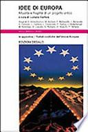 Idee di Europa