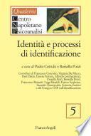 Identità e processi di identificazione