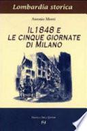 Il 1848 e le cinque giornate di Milano