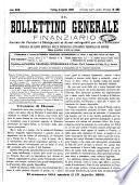 Il bollettino generale finanziario giornale dei portatori d'obbligazioni ed azioni estinguibili per via d'estrazioni