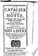 Il Cavalier Della Notte
