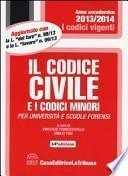 Il codice civile e i codici minori