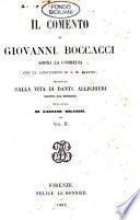 Il comento di Giovanni Boccacci sopra la Commedia con le annotazioni di A. M. Salvini