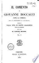 Il comento di Giovanni Boccacci sopra La Commedia
