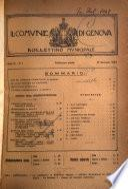 Il Comune di Genova bollettino municipale mensile
