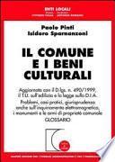 Il comune e i beni culturali