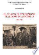 Il corpo di spedizione italiano in Anatolia, 1919-1922