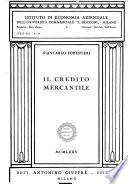 Il credito mercantile