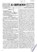 Il crepuscolo rivista settimanale di scienze, lettere, arti, industria e commercio