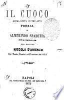 Il cuoco opera buffa in tre atti poesia di Almerindo Spadetta
