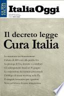 Il decreto legge Cura Italia