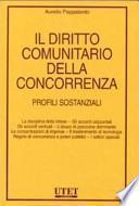 Il diritto comunitario della concorrenza