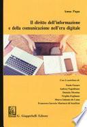 Il diritto dell'informazione e della comunicazione nell'era digitale