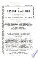 Il diritto marittimo