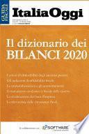Il dizionario dei bilanci 2020