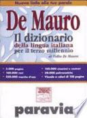 Il dizionario della lingua italiana