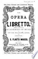 Il flauto magico (The magic flute)