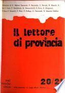 Il lettore di provincia