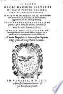 Il libro degli huomini illustri ... Le vite d'Alessandro, di M. Antonio, di Catone Uticese, di Cesare, et d'Ottaviano, aggiuntevi per M. Dionigi Atanagi (etc.)