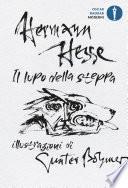 Il lupo della steppa illustrato