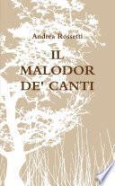IL MALODOR DE' CANTI