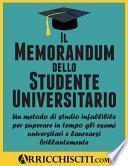 Il Memorandum Dello Studente Universitario