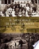 Il memoriale di uno studente dal 1915 all'attacco dei gas a Plezzo il 24 ottobre 1917