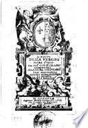 Il parto della Vergine poema eroico del sig.r Gio. Ba. Calamai Fiorentino ...